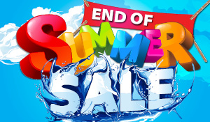 End of Summer Flooring Sale going on now!